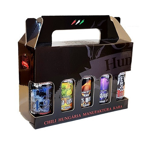 ALL IN ONE - 10 chili sauce in gift box