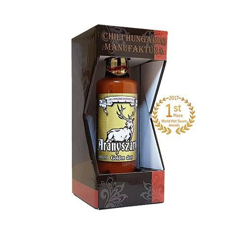 Aranyszarvas (Golden Deer) chili sauce in gift box 100ml