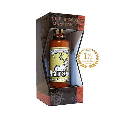 Aranyszarvas (Golden Deer) chili sauce in gift box 100ml