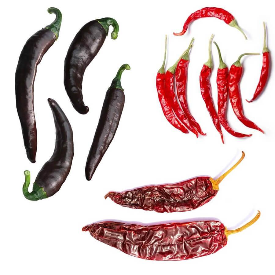 Legnépszerűbb Mexikói chili paprikák