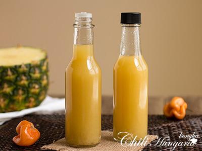 Ananászos chili szósz recept