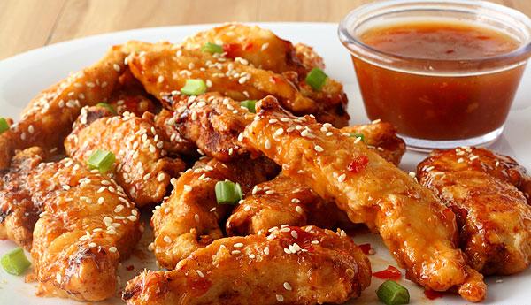 Édes-csípős csirkemell